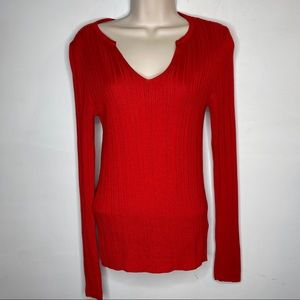Topshop M Red Sweater